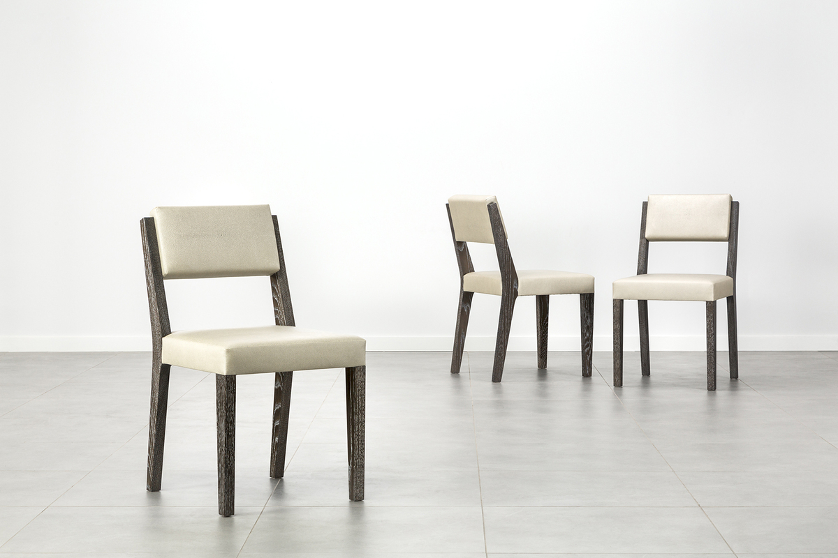 Dash chairs group -faux shagreen-1200-xxx